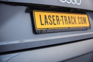 Lasertrack Flare Nummernschild