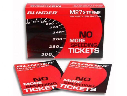 Blinder M27 xtreme