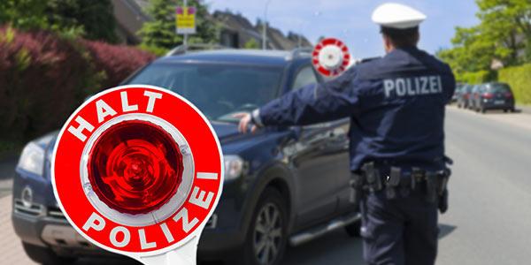 Flensburg, Fahrverbot, Polizei, Führerscheinentzug