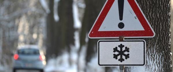 Schnee Glätte Bußgeld